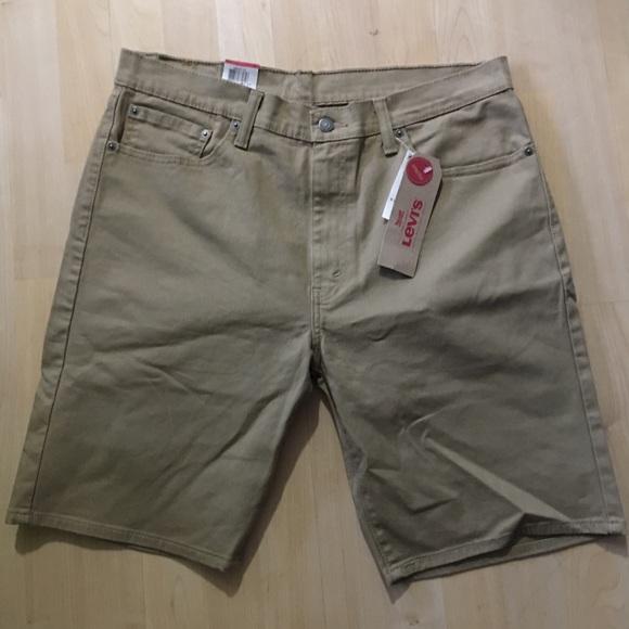 347ba4cfd2 Levi's Shorts | Levis 505 Khaki Dark Tan 4 Pockets | Poshmark